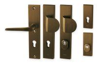 Bezpečnostní klika ATLAS F4 - bronz elox