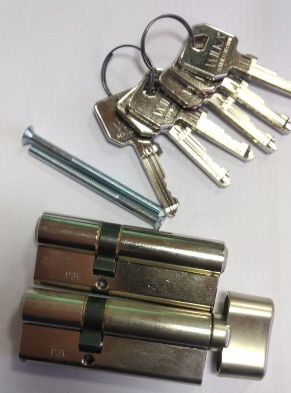 Kompletní set sjednocených vložek WILKA RC3 1405 30/50 + oliva Wilka Schliesstechnik